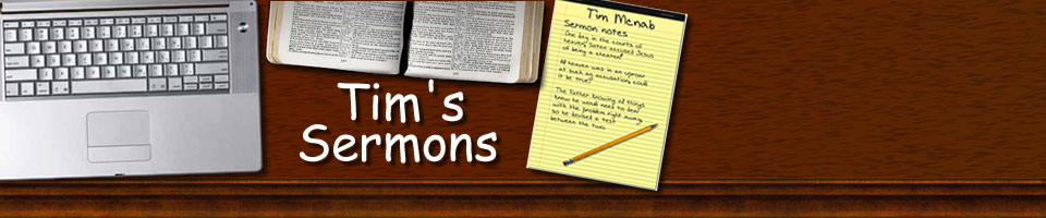 Sermons by Tim Mcnab